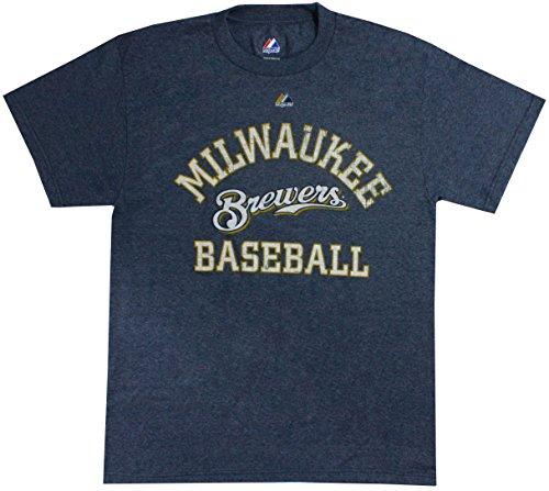 Ryan Milwaukee Brewers Braun (Milwaukee Brewers Ryan Braun Market Value Heathered Blue T-Shirt, Medium)