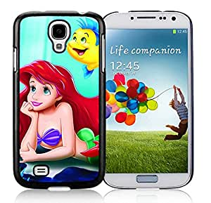 little mermaid Black Samsung Galaxy S4 Phone Case likable and Durable Design
