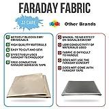 Upgraded EMF Shielding Faraday Fabric