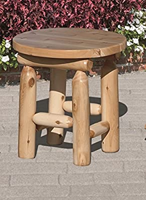 "White Cedar Outdoor 24"" Square End Table *6 stain options*"