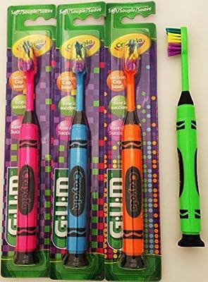 GUM Crayola Marker Toothbrush