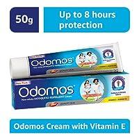 Odomos Non-Sticky Mosquito Repellent Cream (With Vitamin E & Almond) - 50g
