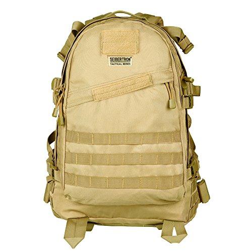 Seibertron wasserdichte Tasche ScanSmart Travel Gear Laptop Computer Notebook-Rucksack Waterproof Tactical Notebook-Backpack Passend bis 15