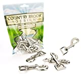 10 - Country Brook Design 3/4 Inch Heavy Swivel Snap Hooks