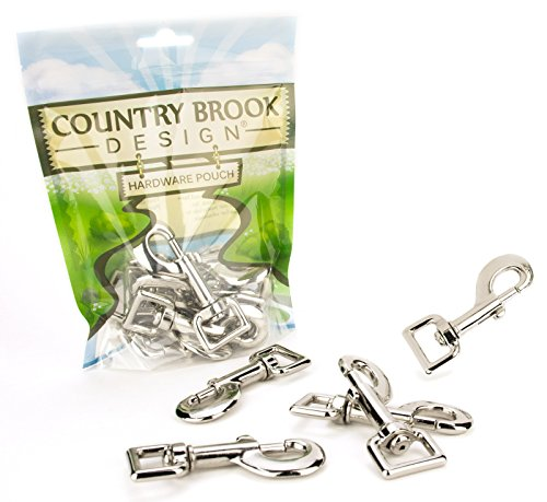 10 - Country Brook Design   3/4 Inch Heavy Swivel Snap Hooks ()