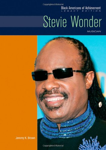 Download Stevie Wonder: Musician (Black Americans of Achievement (Hardcover)) PDF