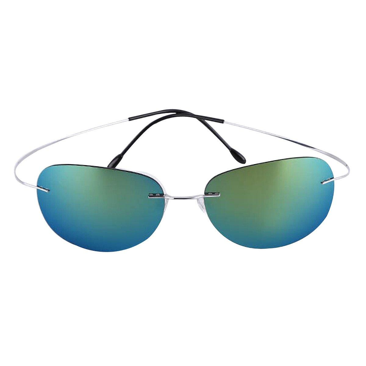 Gafas De Sol Polarizadas Simples Y Coloridas,Green