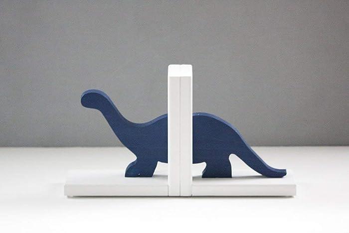 Amazon com: Brontosaurus Dinosaur Bookends, Navy Dino Book