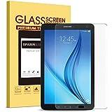 Samsung Galaxy Tab E 8.0 Screen Protector, SPARIN [.3mm / 2.5D Round Edge] [Tempered Glass] [Bubble-Free] Screen Protector for Samsung Galaxy Tab E 8.0 Inch