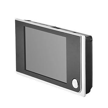 Tosuny Visor de Puerta Digital Visor de Mirilla, Cámara de Mirilla De 3,5