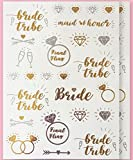 Bachelorette Bride to Be Metallic Coachella Tattoos