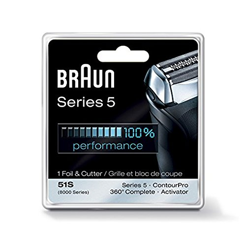 Braun Series 5 51S Foil & Cutter Replacement Head Silver (Braun Shaver 550cc compare prices)