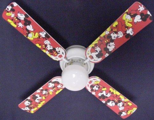 Ceiling Fan Designers Ceiling Fan, Disney Mickey Mouse #1...