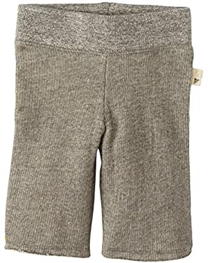 Baby Girls' Loose Terry Pant (Baby) - Heather Grey!