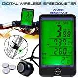 DZT1968 Waterproof Wireless Large Touch Screen Bicycle chronograph Speedometer