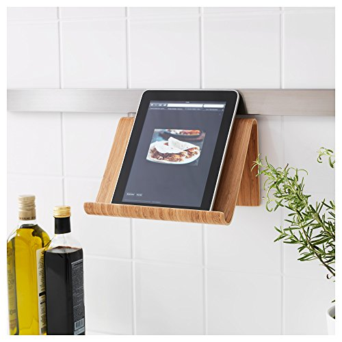 IKEA Comfortable and Adjustable Kitchen Cooking Tablet Stand Bamboo