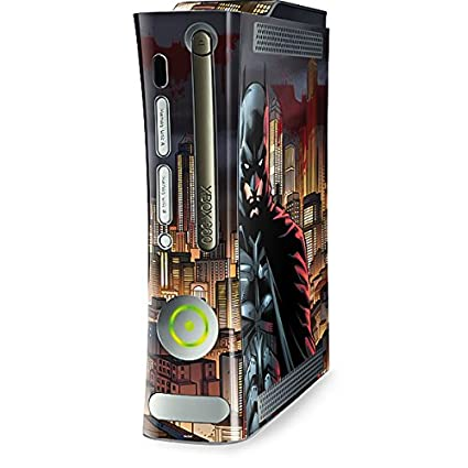 DC Comics Batman Xbox 360 (Includes HDD) Skin - Batman in Gotham City Vinyl
