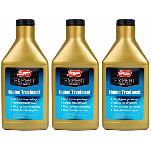 Gumout Expert Series Engine Treatment Motor Oil Additive, 3 Pack - Improves Gas Mileage and Restores Lost Performance