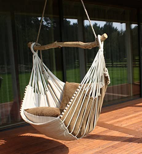 Hammock chair handmade for Diy macrame baby swing