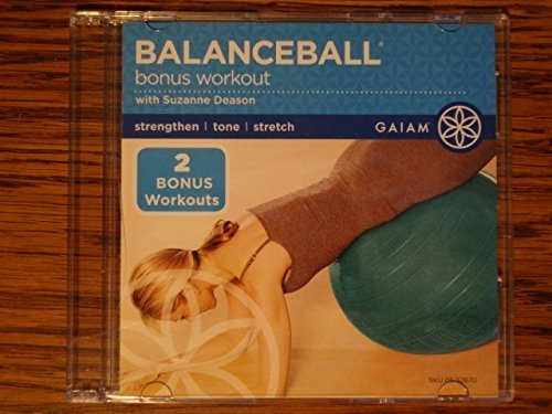 Balance Ball with Bonus Workout with Ball suzane DEASON by GAIAM 939f7a