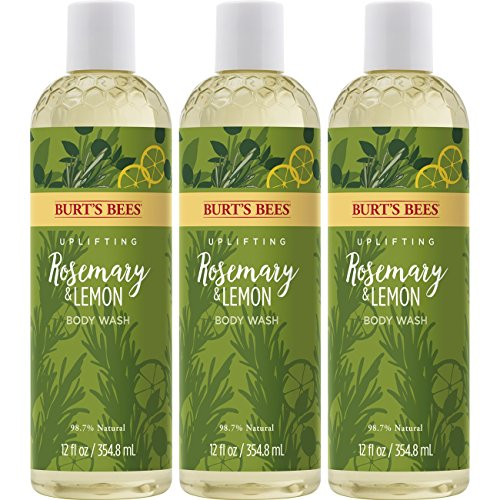 Burt's Bees Body Wash, Rosemary & Lemon, 3 Count