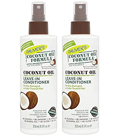 Palmers Coconut Oil Formula Strengthening Leave-in Conditioner 250ml (PACK OF ...