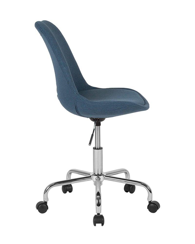Flash Furniture CH-152783-BL-GG Fabric Task Chairs, Blue, Blue
