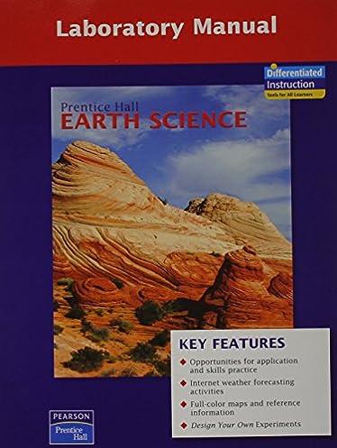 prentice hall earth science lab manual se prentice hall rh amazon com Earth Science Posters earth science lab manual fourth edition