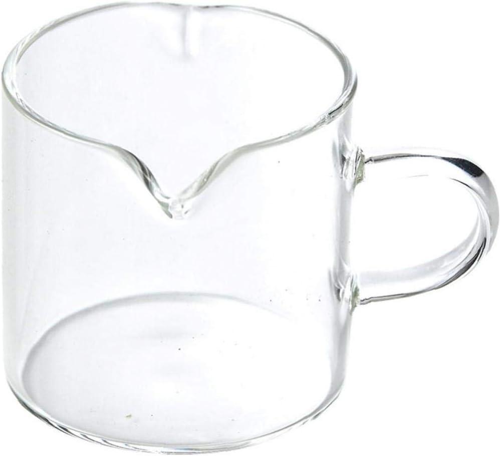 4oz Glass Creamer Pourer Milk Jug Pitcher Jug Pottery Housewarming Gift for Tea Coffee Lovers