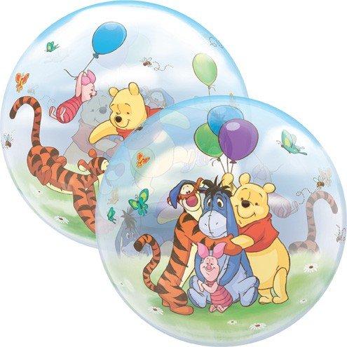 loonballon 22インチWinnie the Pooh & Friendsバブルバルーン、バブル、5ピース   B01LWDLIB5