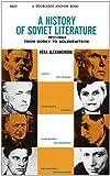A History of Soviet Literature, Vera Alexandrova, 0837161142