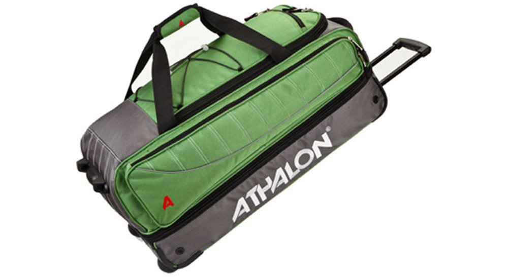 Athalon Luggage The Glider 29 Inch Wheeling Duffel, Grass Green, One Size