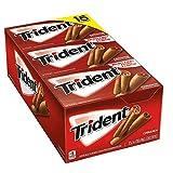 Trident Cinnamon Sugar Free Gum 15/14 Piece Packs (Pack of 2) Total 420 sticks