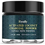 Tooth Whitener, FirstFly Teeth Whitening Activated Charcoal Powder Natural Organic Bamboo Toothpaste Whitens Stained Teeth