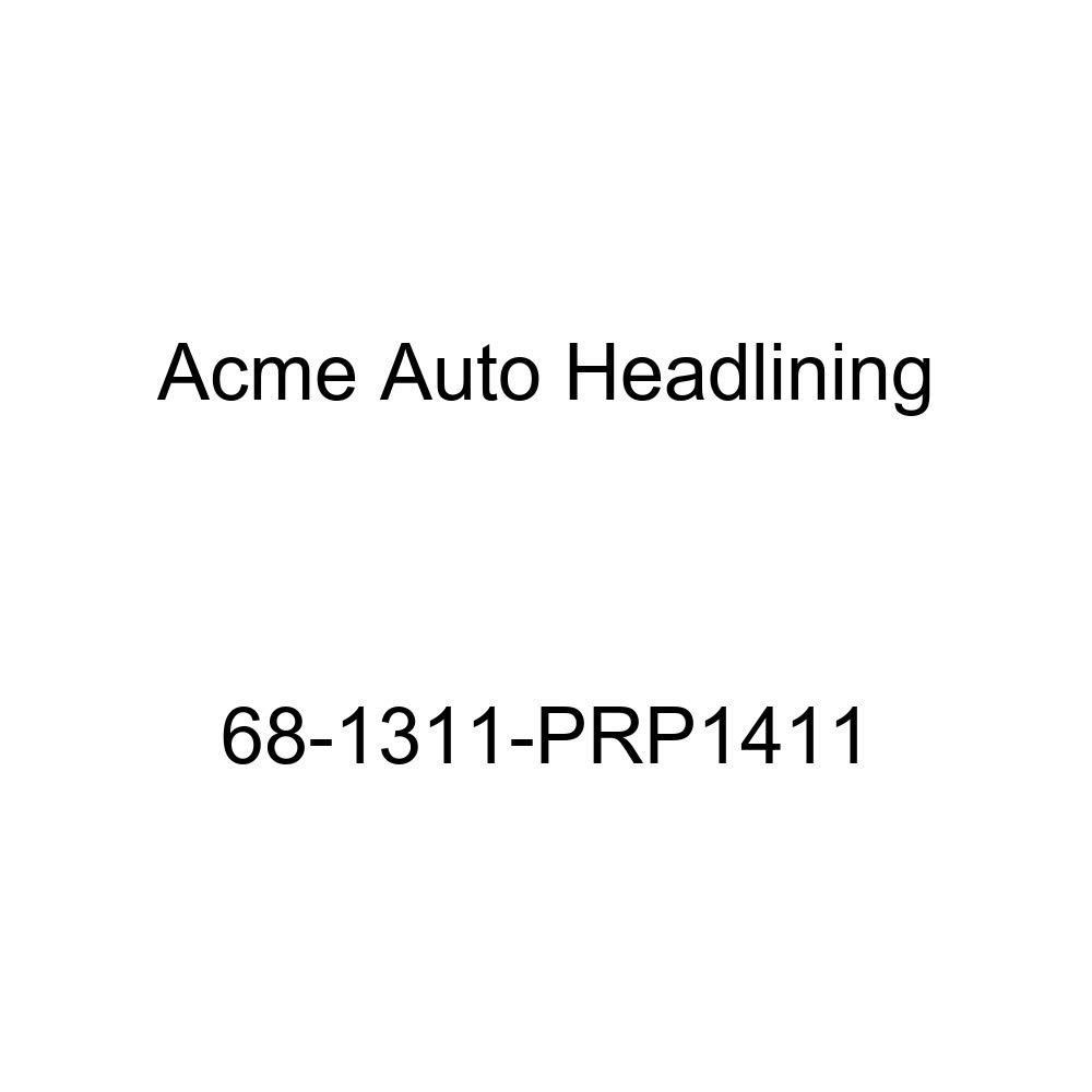 Acme Auto Headlining 68-1311-PRP1411 Maroon Replacement Headliner Cadillac Calais /& DeVille 2 Door Hardtop 6 Bow