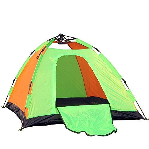 パワー感心するユーモラスマ?チョン テント 屋外ダブルテントキャンプ自動テント (色 : A)