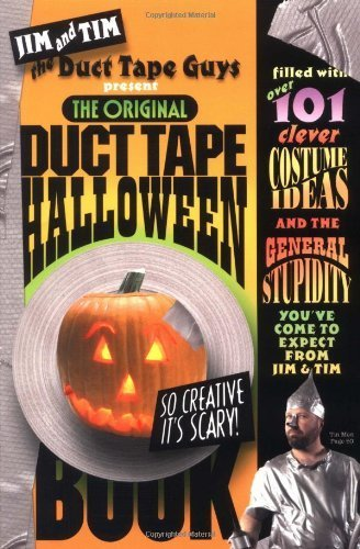 The Original Duct Tape Halloween Book Paperback –
