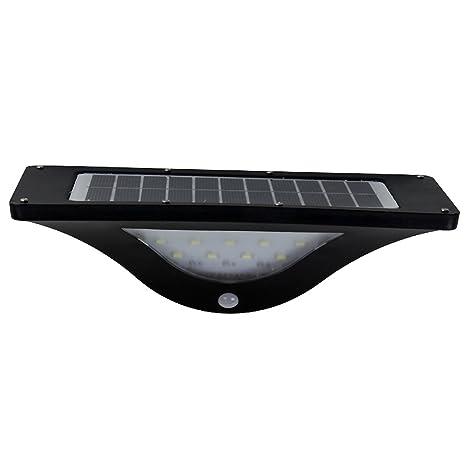 WGOAL Solar Wall Lights Sensor de movimiento infrarrojo IP 65 impermeable inalámbrico sin llave rosa 16