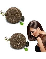 Organic Grey Reverse Shampoo Bar, Essence Hair Darkening Shampoo Soap, 100% Natural Organic Conditioner Soap, Polygonum Multiflorum for Hair Repair, Hydrate Hair, Damaged Dry Treated