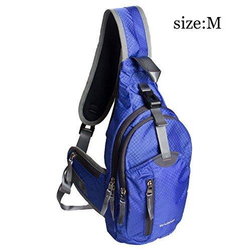 WASING Military Sport Shoulder Backpack