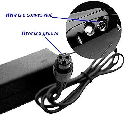 Chargeur de Batterie 42V 2A Adaptateur Secteur pour Mini Scooter électrique Intelligent, Adaptateur de Chargeur de Batterie Universel pour Swagtron, Segway, Mod Sport, Dirt Quad et Hoverboard