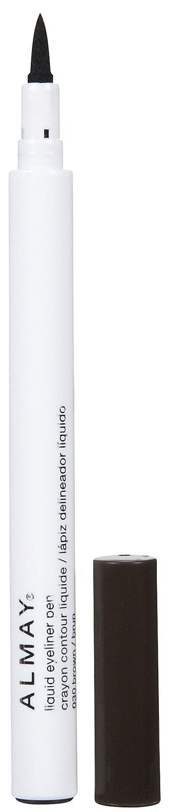 Almay Liquid Eyeliner Pen, Black, 0.056 Ounce