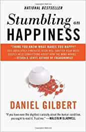 stumbling happiness daniel gilbert book report In 'stumbling on happiness' professor daniel gilbert combines psychology, neuroscience, economics and philosophy with irrepressible wit to describe how the human brain imagines its future – and how well (or badly) it predicts what it will enjoy.