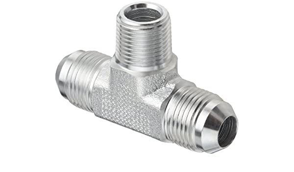 Male Pipe Thread Male 37 Degree JIC 1//2 NPT End Size x 5//8 JIC JIC 37 Degree /& NPT End Types Eaton Aeroquip 2021-8-10S Male Connector m Pack of 4 5//8 Tube OD m Carbon Steel