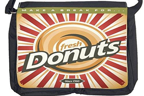 Borsa Tracolla Arredamento Cucina Donuts Stampato