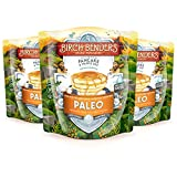 Paleo Pancake and Waffle Mix by Birch Benders, Low-Carb, High Protein, High Fiber, Gluten-free, Low Glycemic, Prebiotic, Keto-Friendly, Made with Cassava, Coconut and Almond Flour, 3-pack (42oz each)