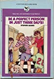 Be/perfect Person/, Stephen Manes, 0553155806