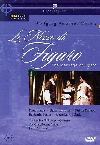 Mozart - Le Nozze di Figaro / Te Kanawa, Cotrubas, von Stade, Luxon, Skram, Fryatt; Pritchard, Glyndebourne - Di Opera Figaro Le Nozze