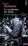 img - for Le syndrome de Vichy : De 1944   nos jours (French Edition) book / textbook / text book