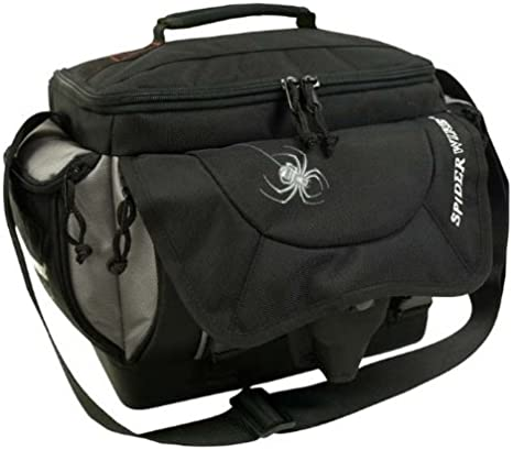 Spiderwire Tackle Bag, Black: Amazon.co.uk: Sports & Outdoors